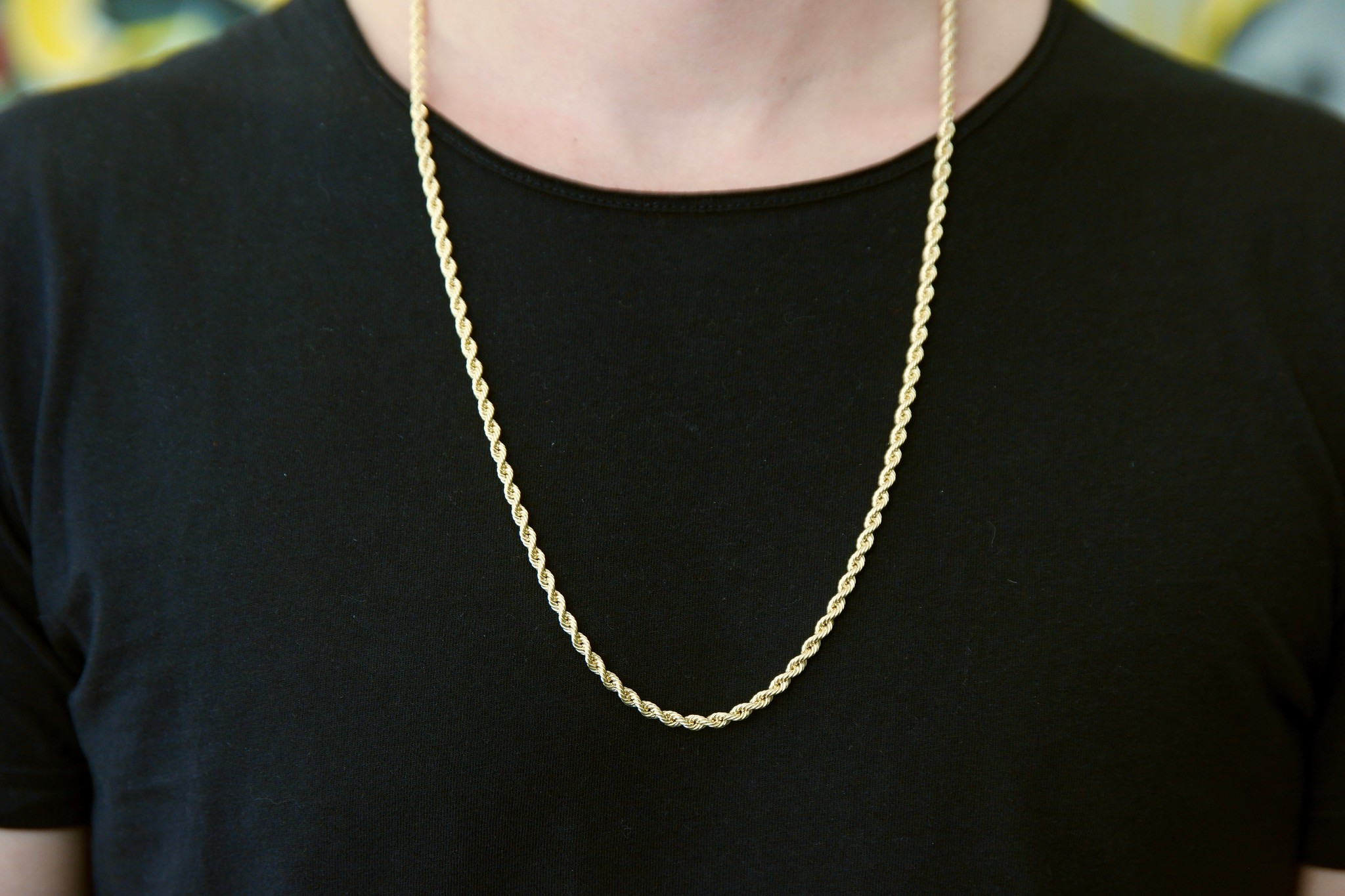 Rope Chain 14k - 3,5 mm-4
