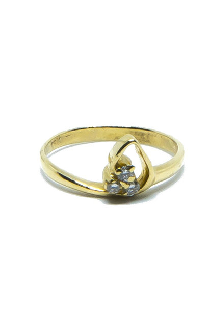 """Rosita"" ring diamant"