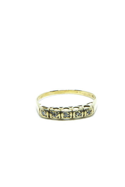 """""""Mollie"""" ring   diamant"""