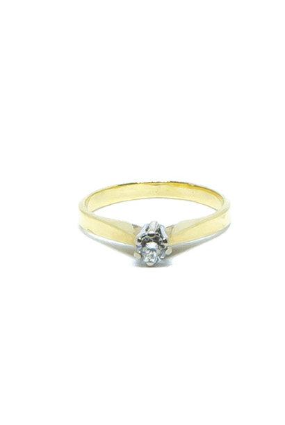 """""""Roosje"""" ring   diamant"""