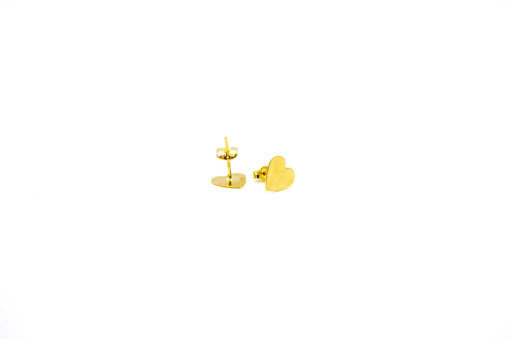 Oorbellen stekers hartjes-5