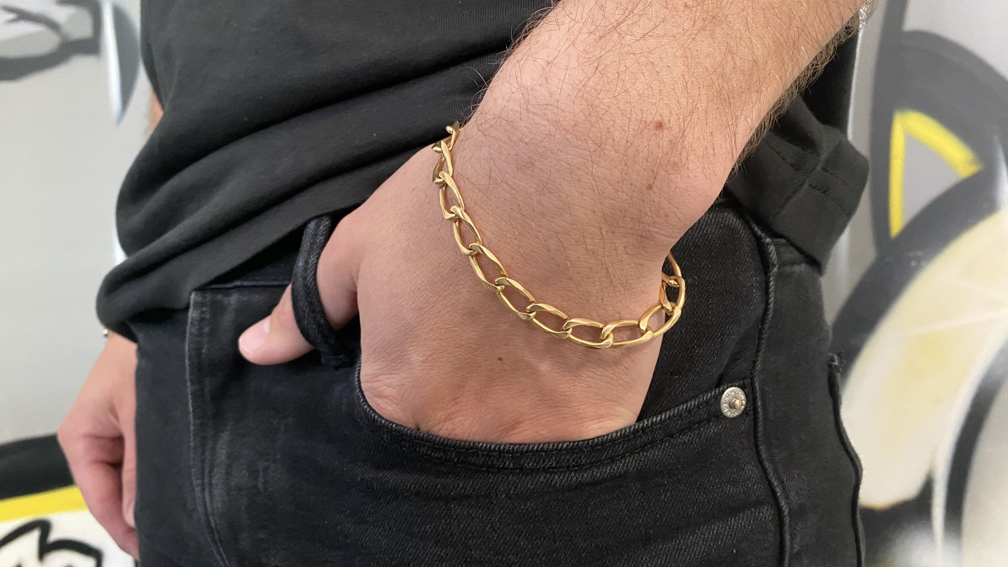Armband met open schakel-5