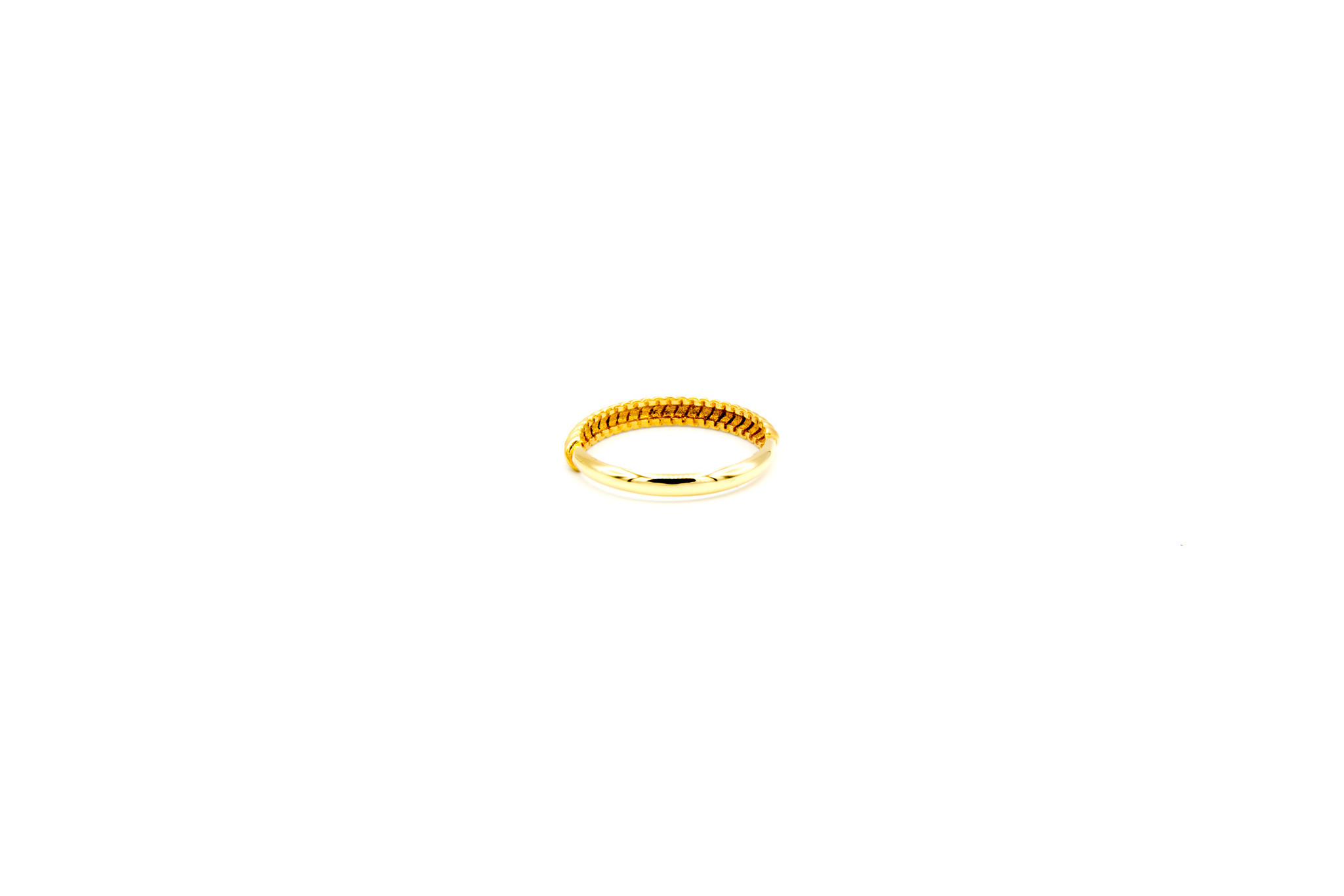 Ring met gematteerde boogjes-3