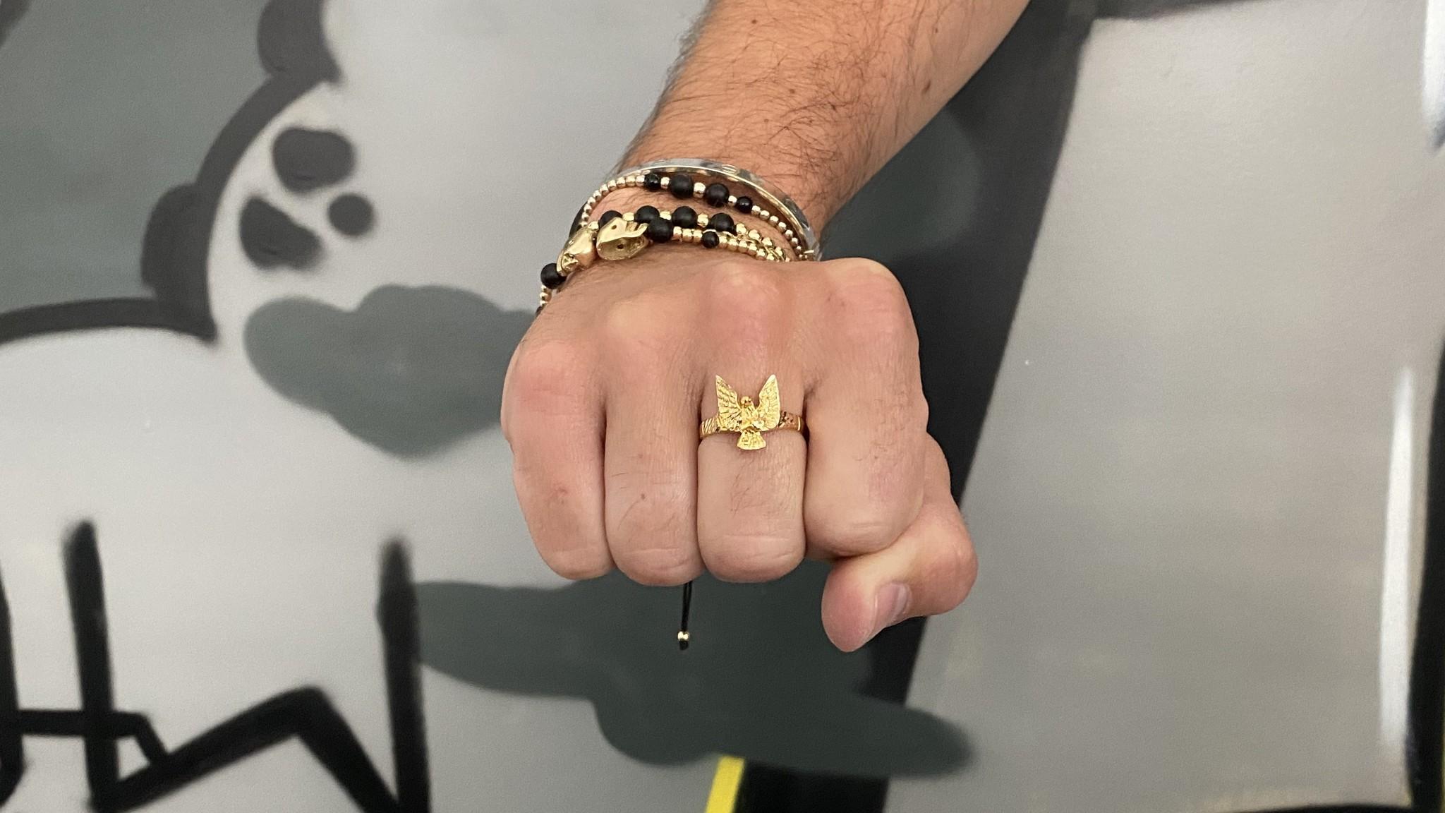 Ring met adelaar-2