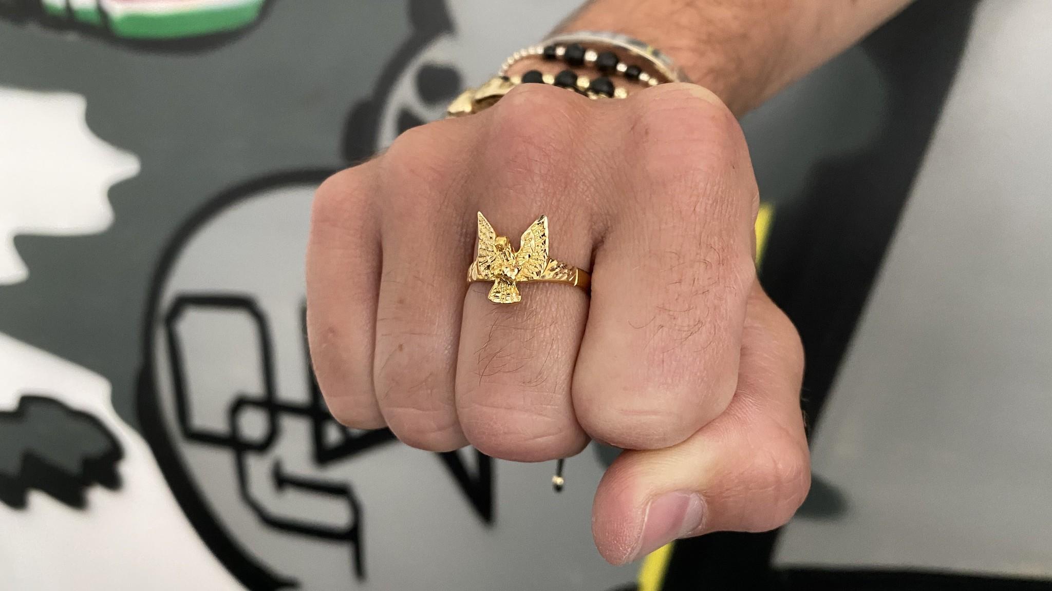Ring met adelaar-4