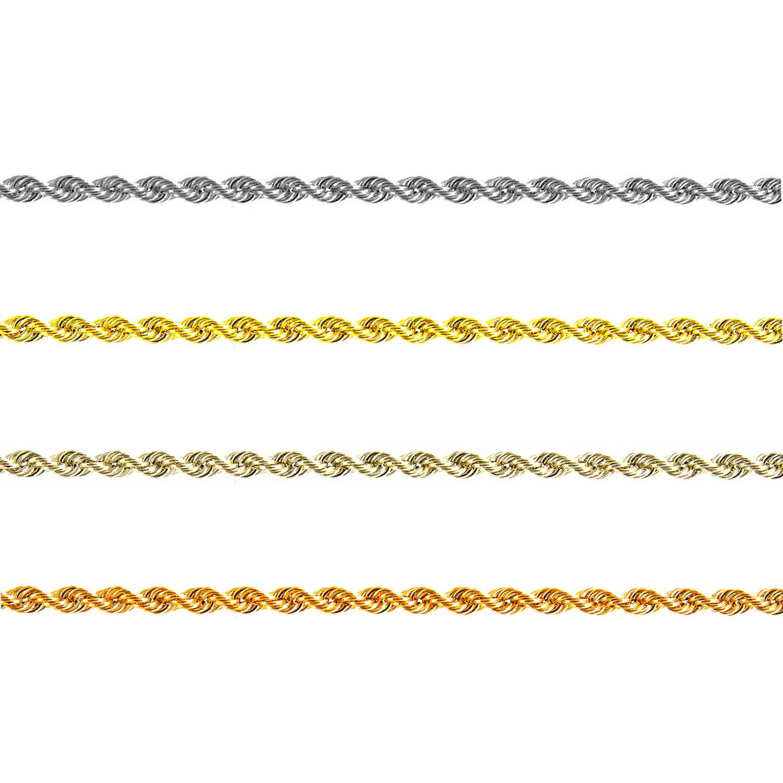 rope chain kleuren