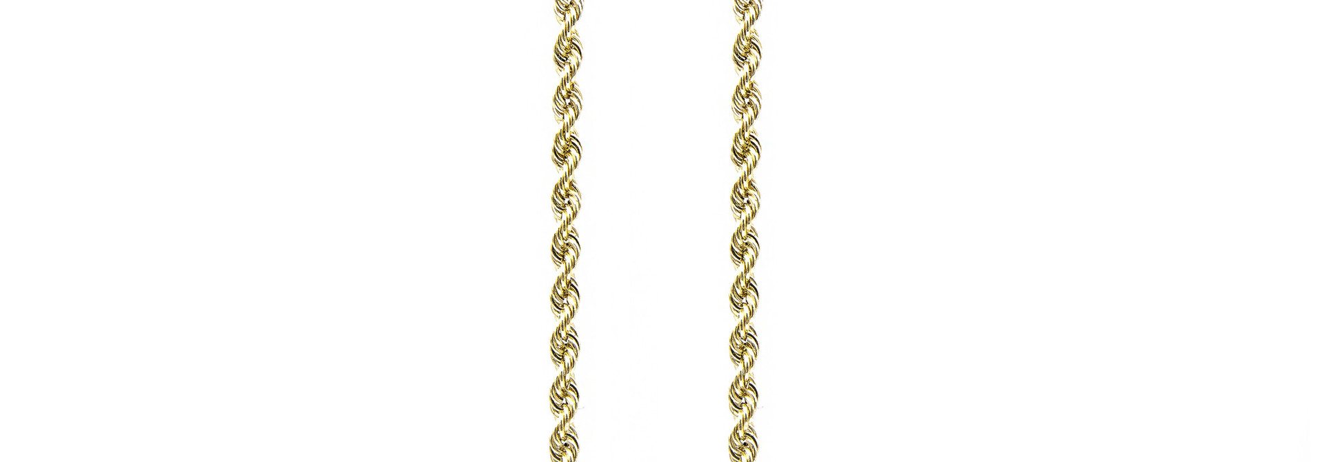 Rope Chain 18k-3.5 mm