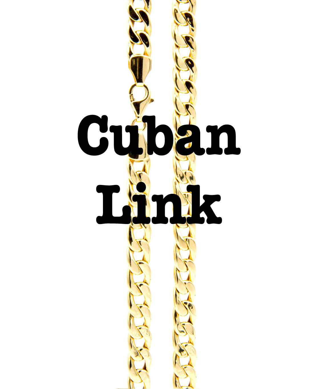 Overzicht Cuban Links