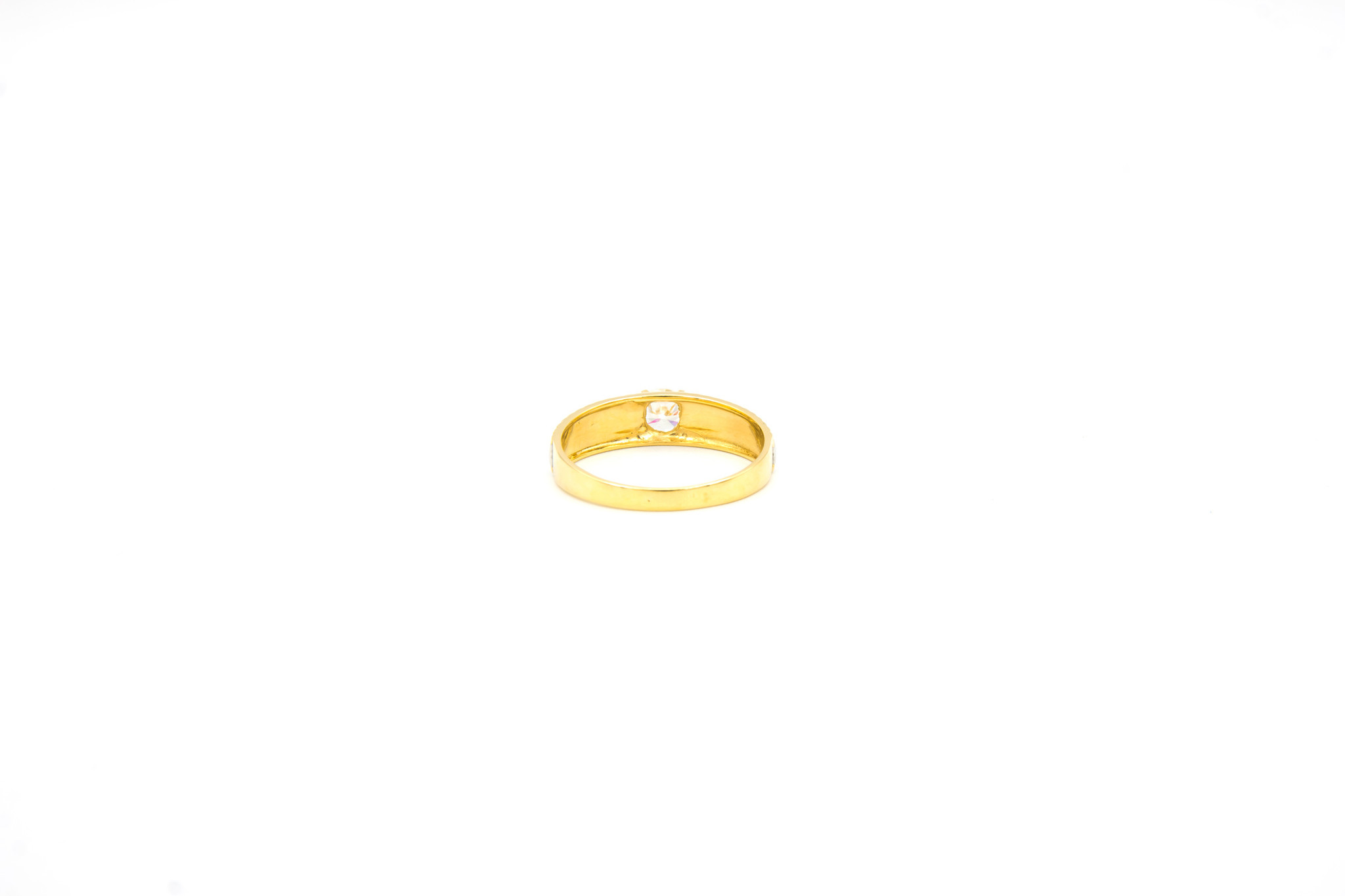 Ring solitair bicolor-4