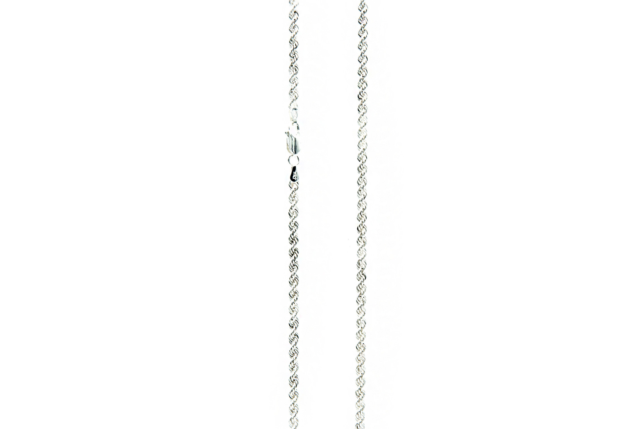 Ketting rope chain zilver-2