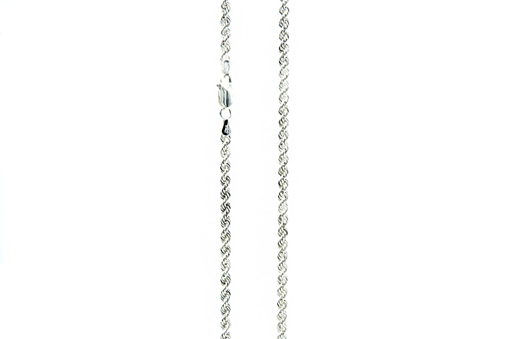 Ketting rope chain zilver-1
