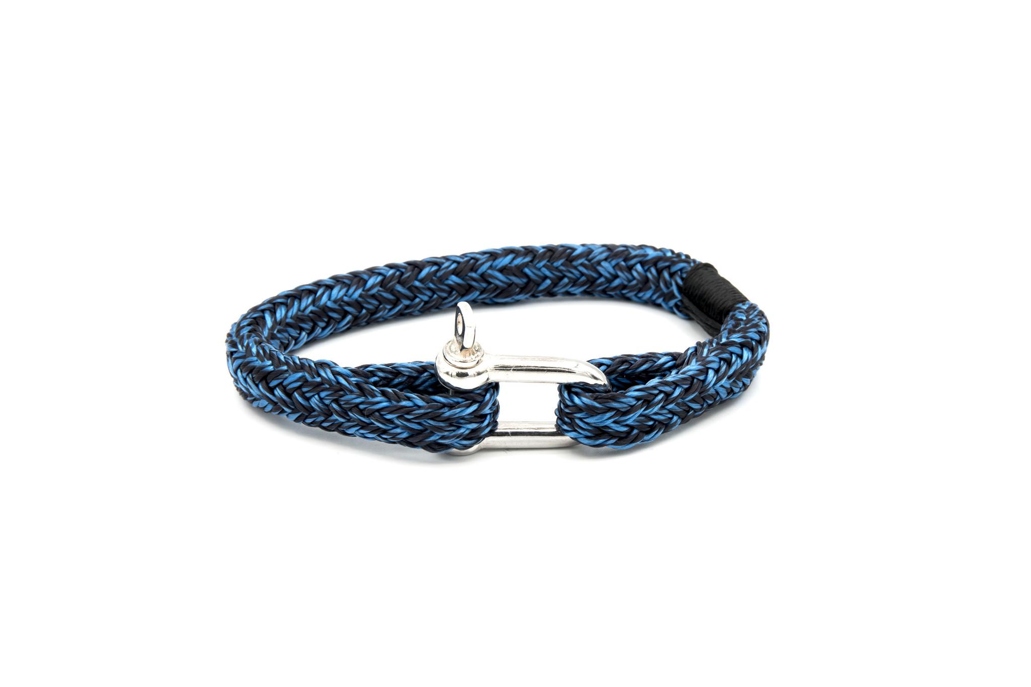 Armband marinekoord met shackle-7