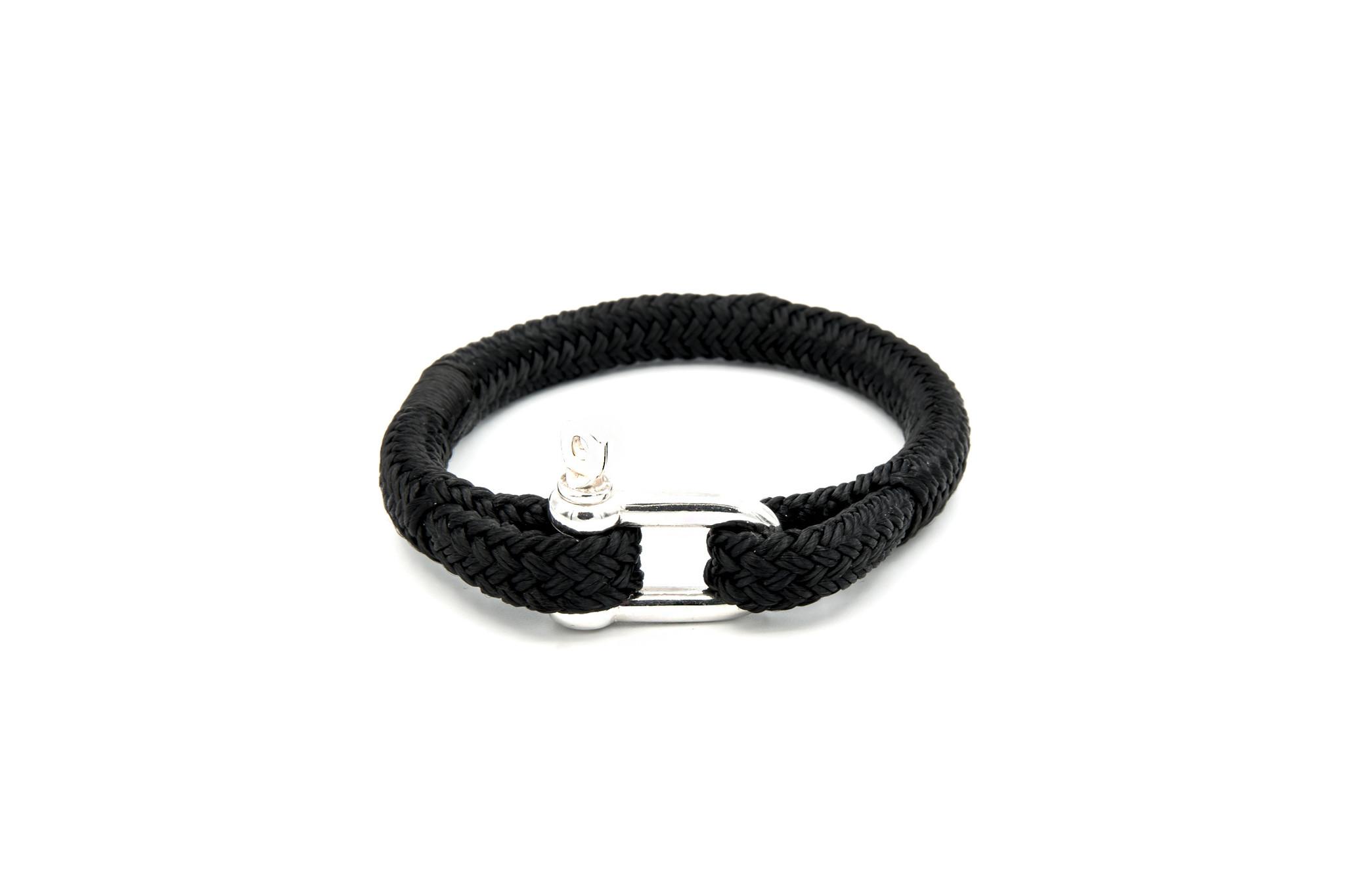 Armband marinekoord met shackle-8