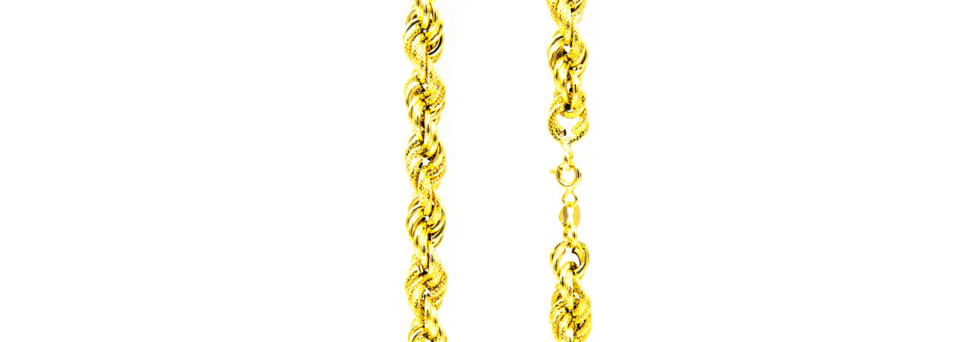 Ketting rope chain gedeeltelijk diamond cut