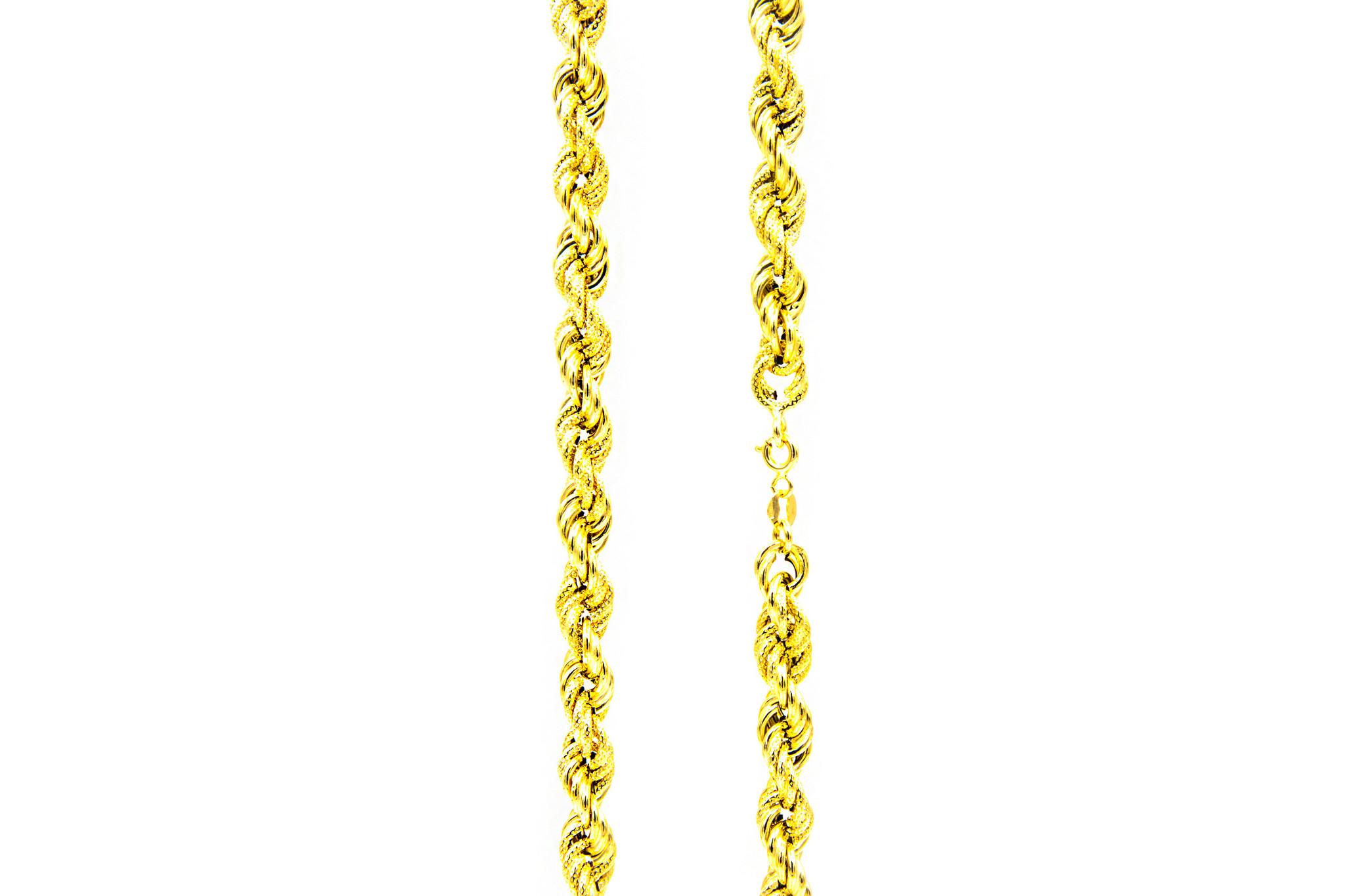 Ketting rope chain gedeeltelijk diamond cut-1