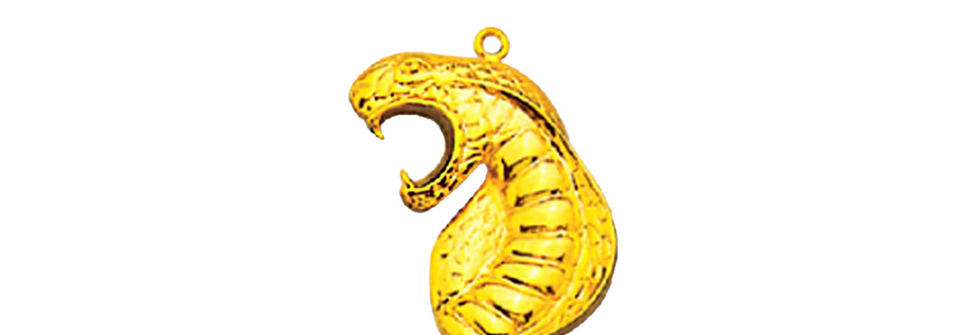 Cobra snake hanger