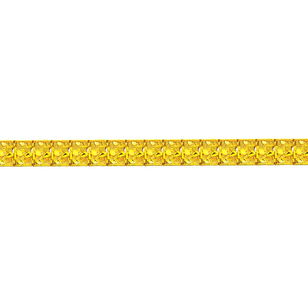 Brede piet piet armband-1