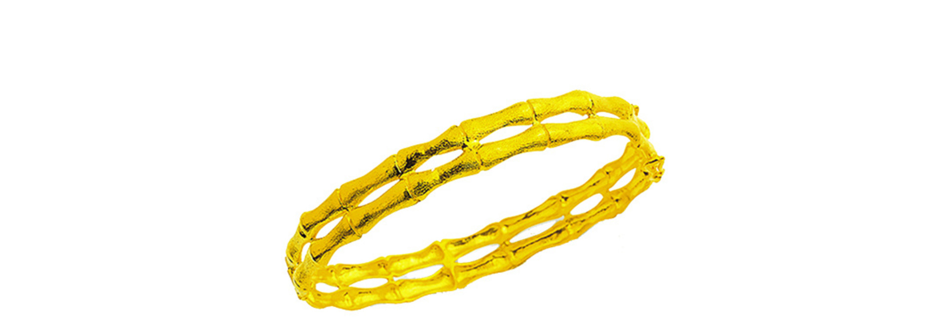 Dubbele bamboo armband