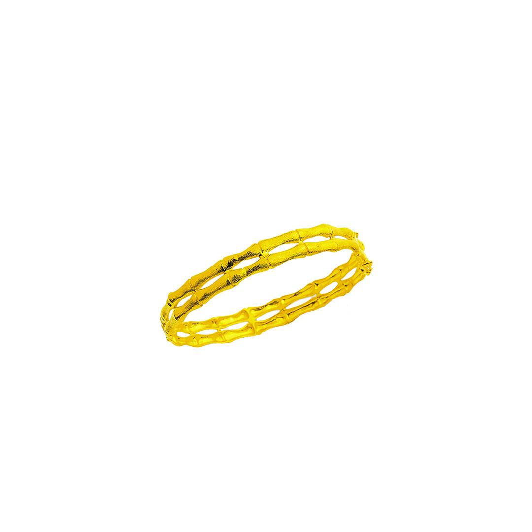 Dubbele bamboo armband-1