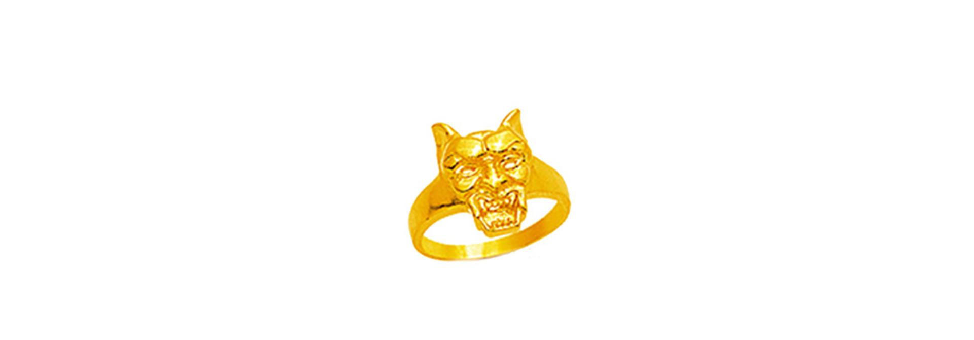 Hell hound ring