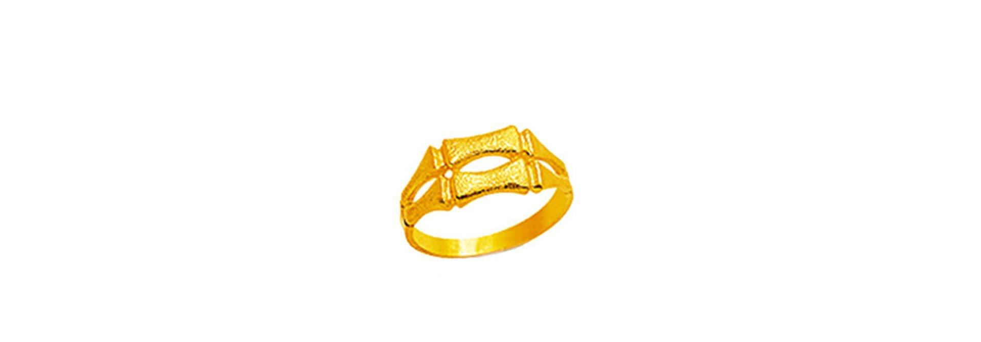 Dubbele bamboo ring