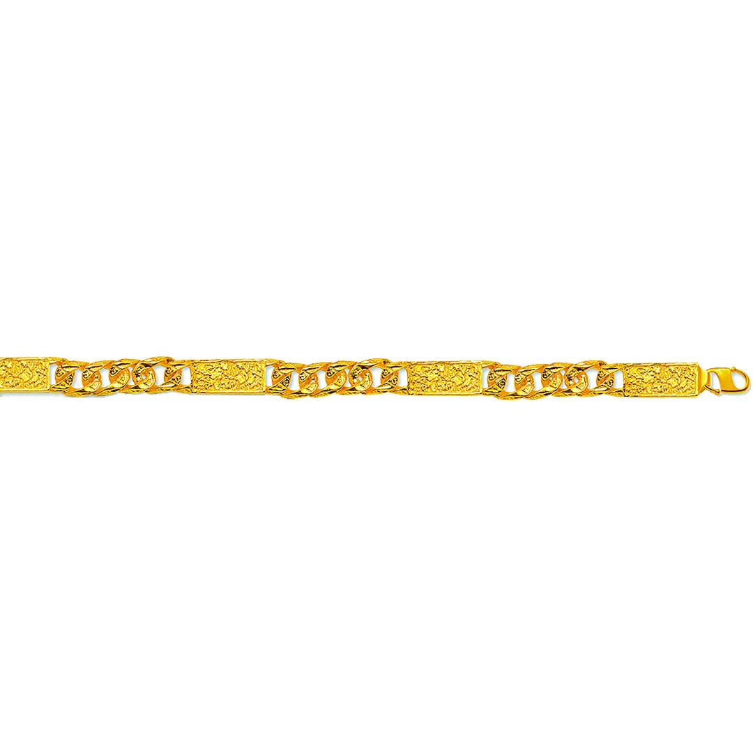 Cuban-Piet piet armband/ketting-1