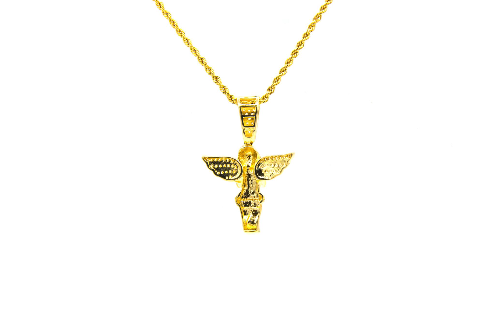 Hanger engel met zirkonia's-2