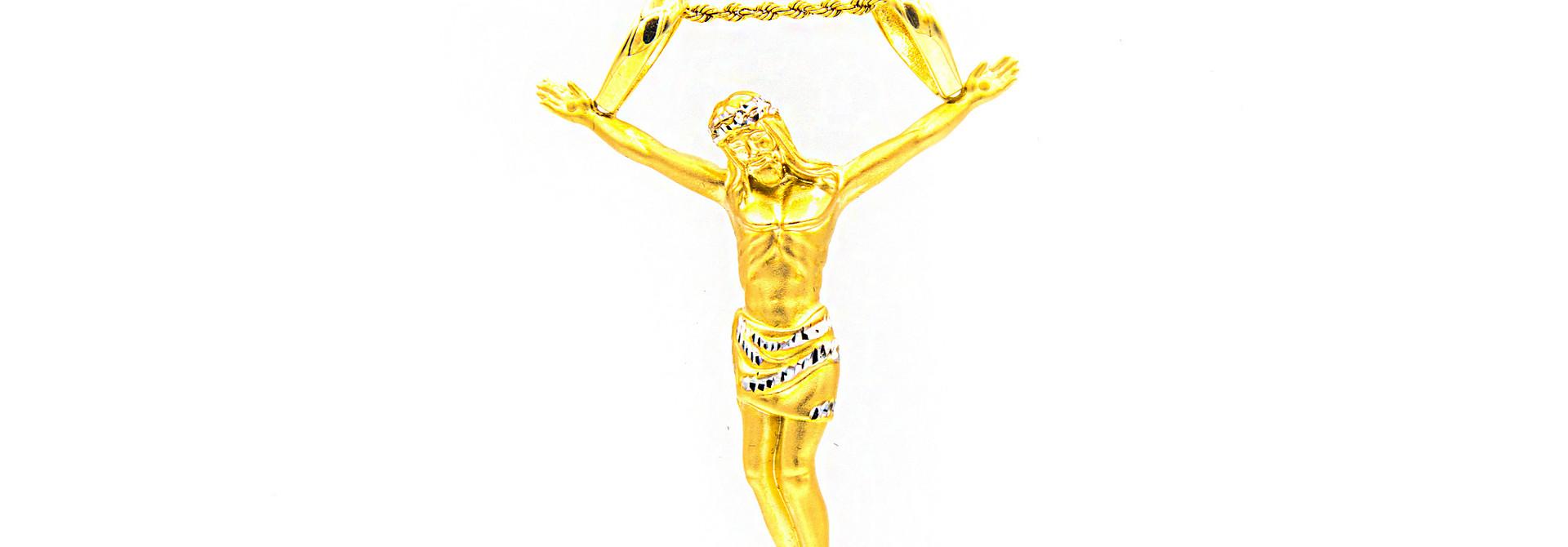 Hanger Jesus piece bicolor XXL