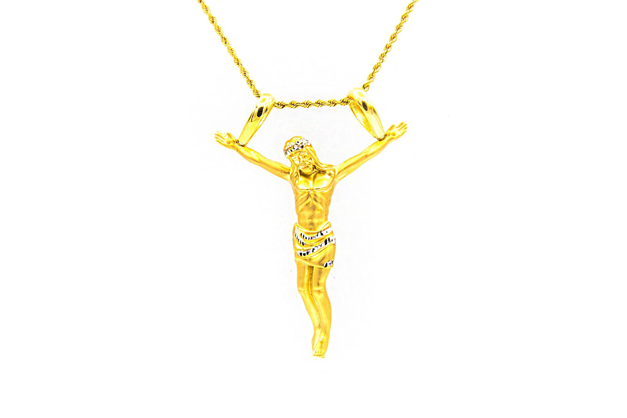 Hanger Jesus piece bicolor XXL-1