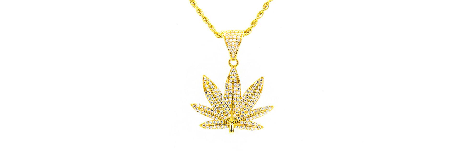 Hanger Cannabis wietblad