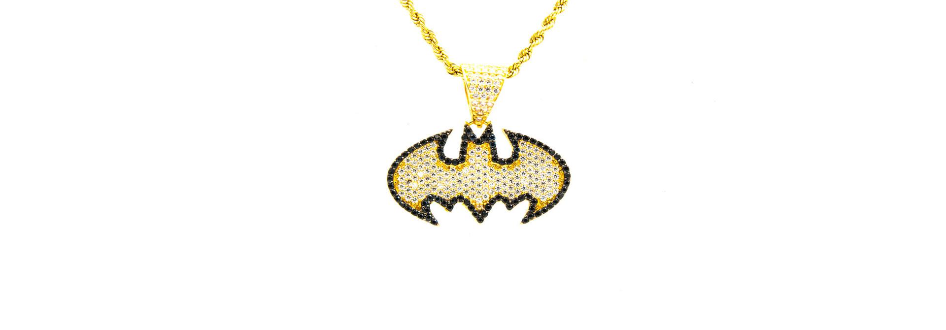 Hanger Batman met zirkonia