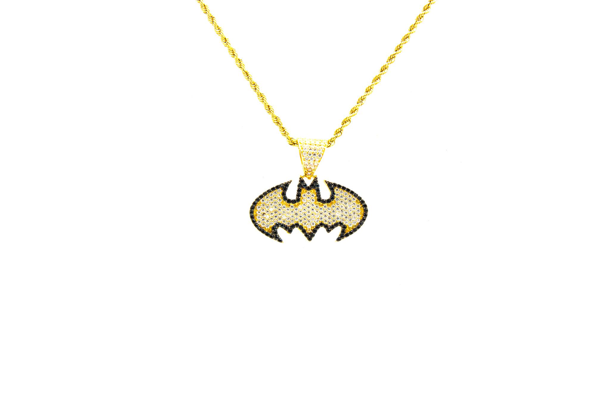 Hanger Batman met zirkonia-1