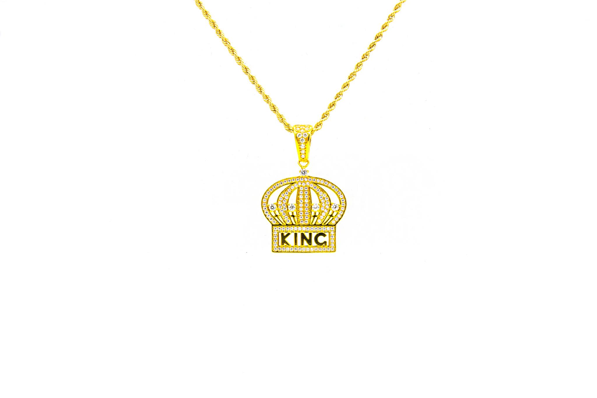 Hanger kroon met zirkonia's-1