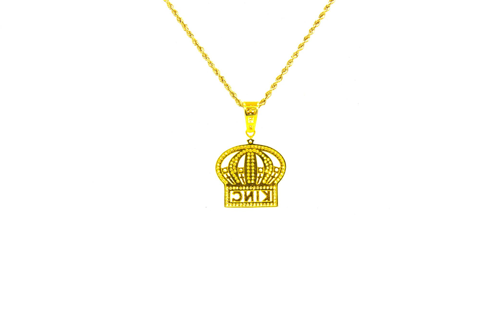 Hanger kroon met zirkonia's-2