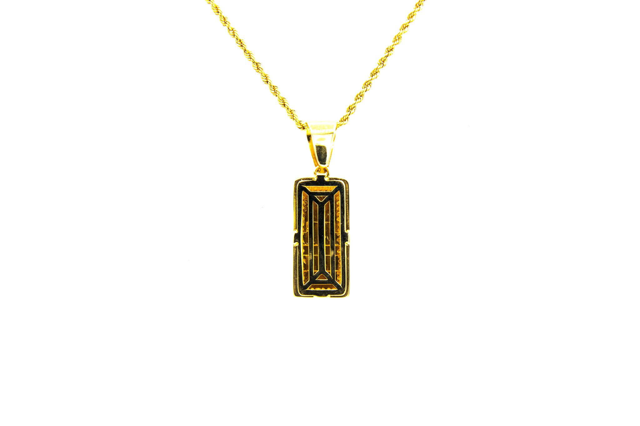 Hanger goudbaar met zirkonia's-4