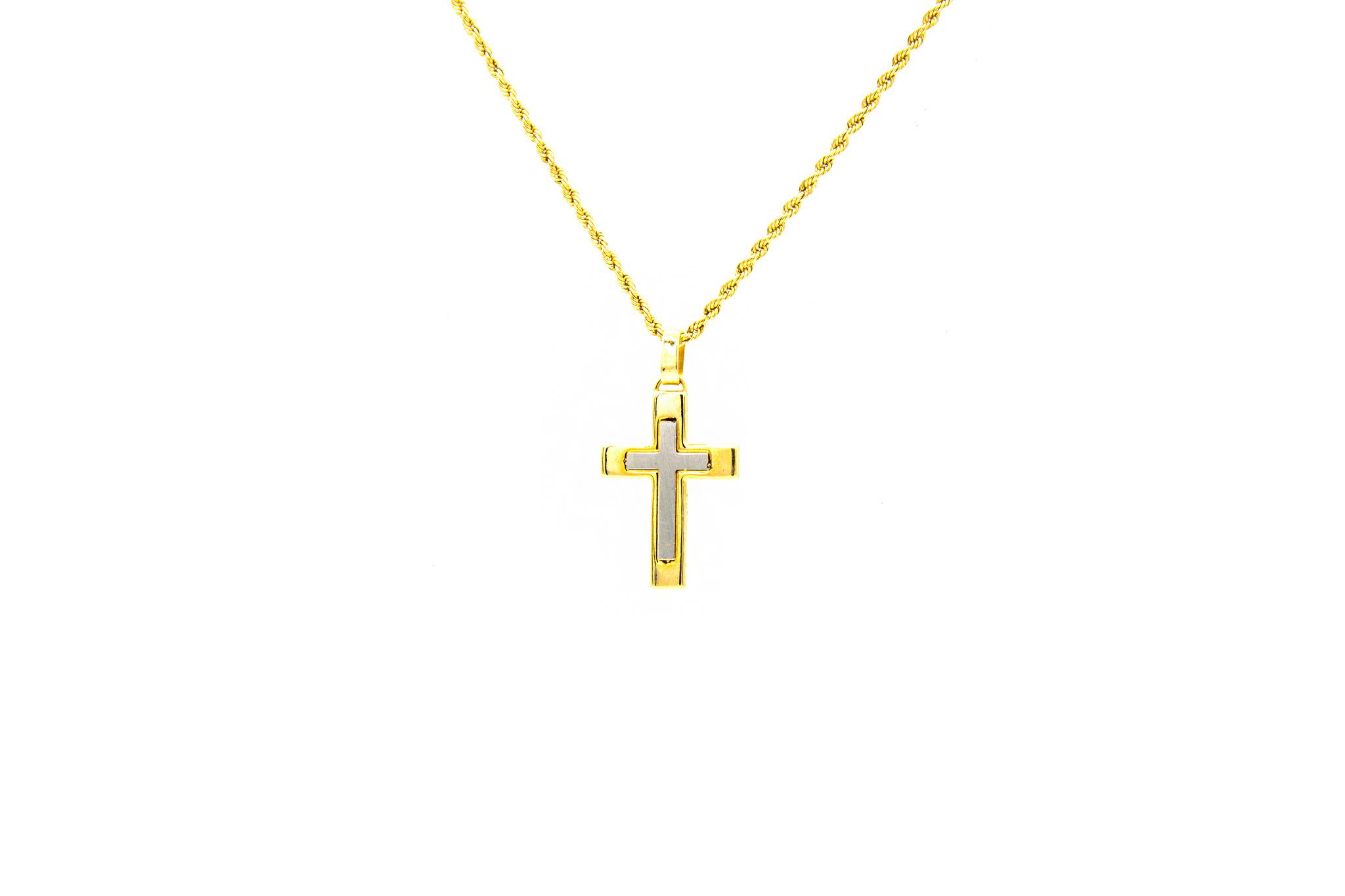 Hanger kruis bicolor-1