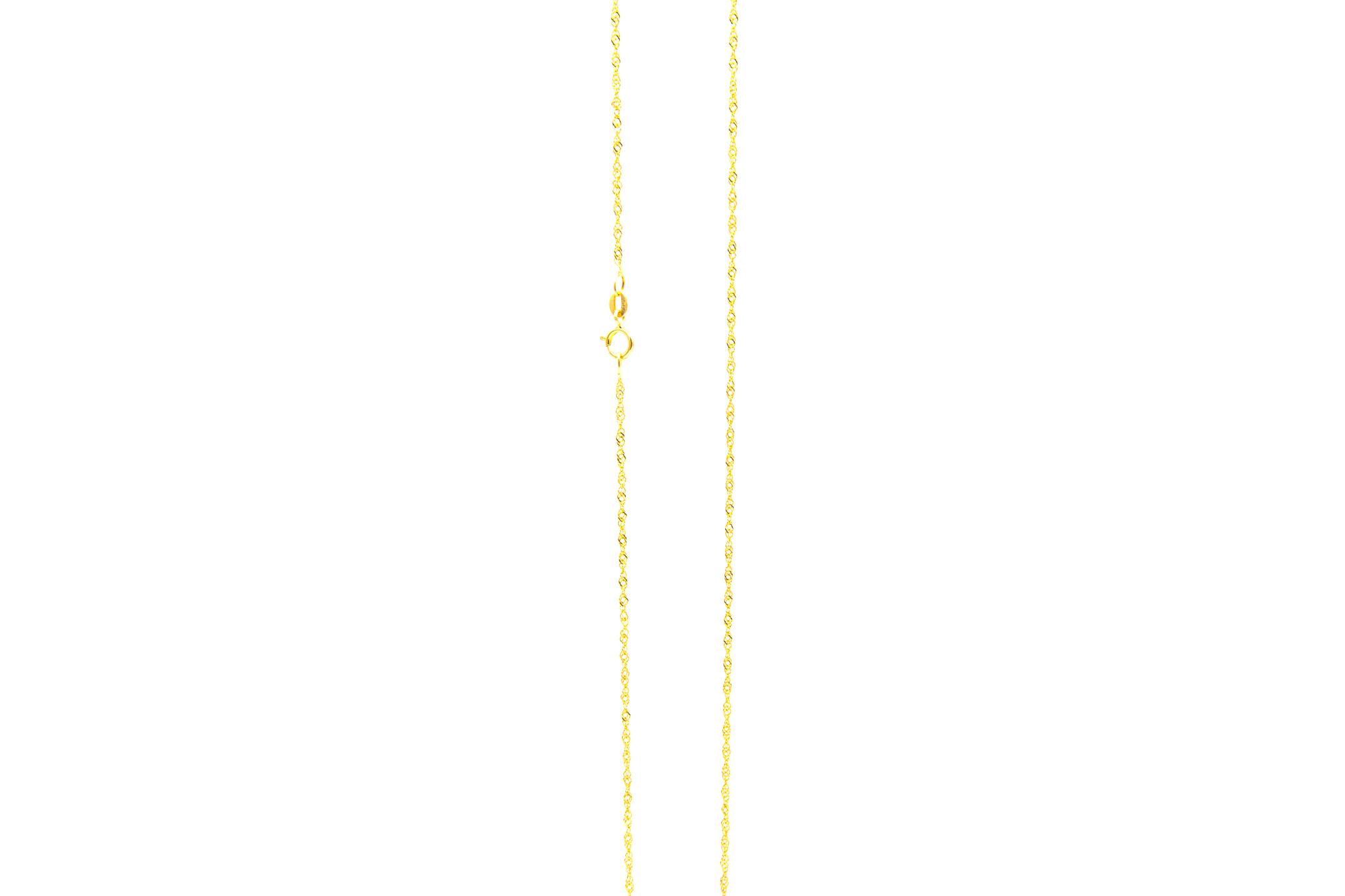 Singapore chain 1mm-2