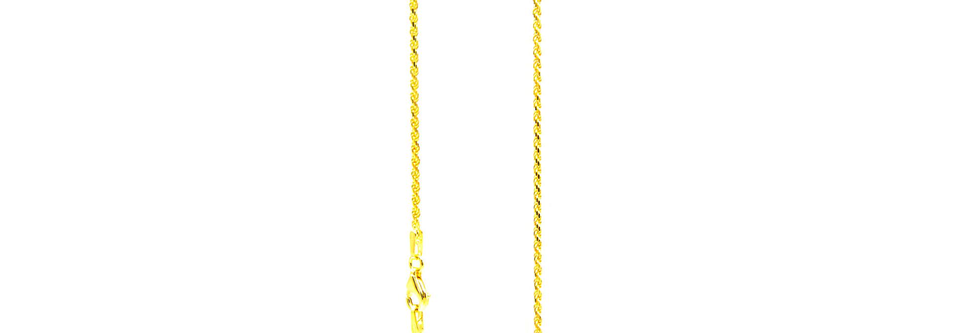 Rope Chain massief NL 18k-1.5mm