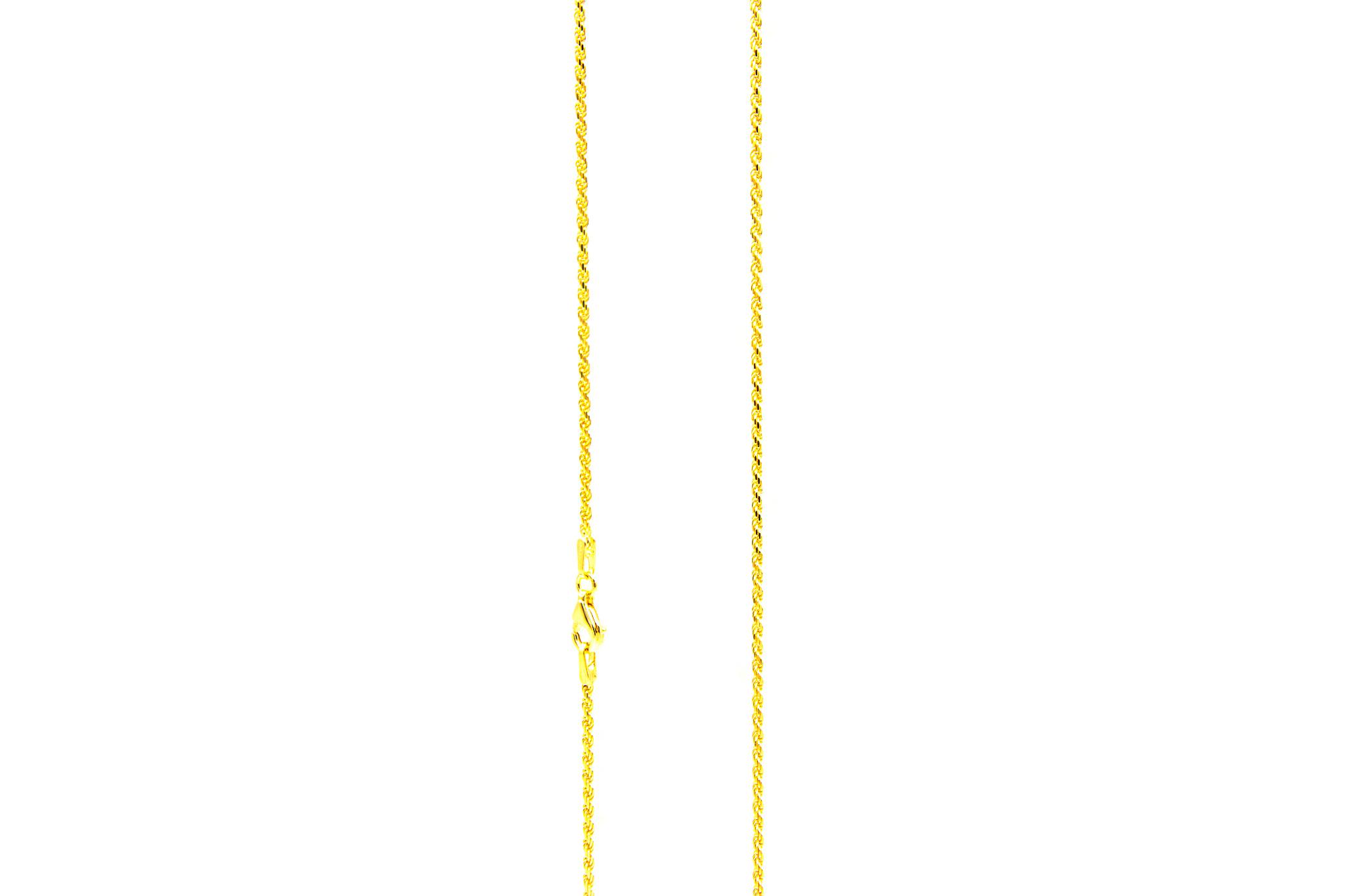 Rope Chain massief NL 18k-1.5mm-1