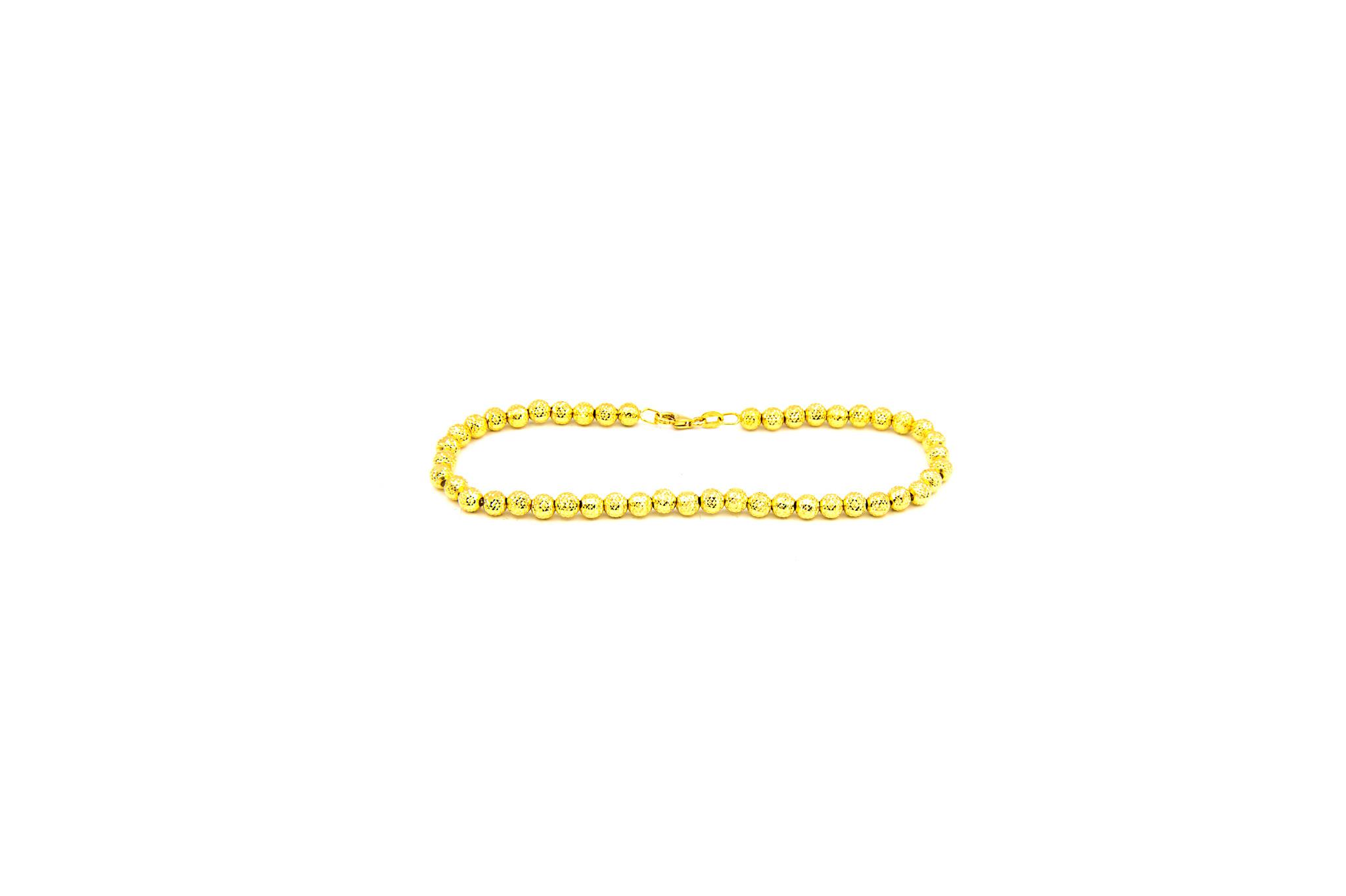 Armband met gediamanteerde kleine bolletjes-1