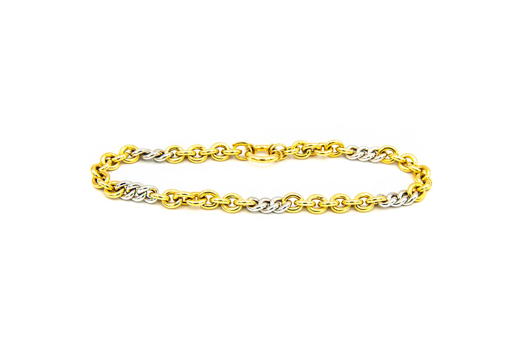 Armband anker-gourmet bicolor-2