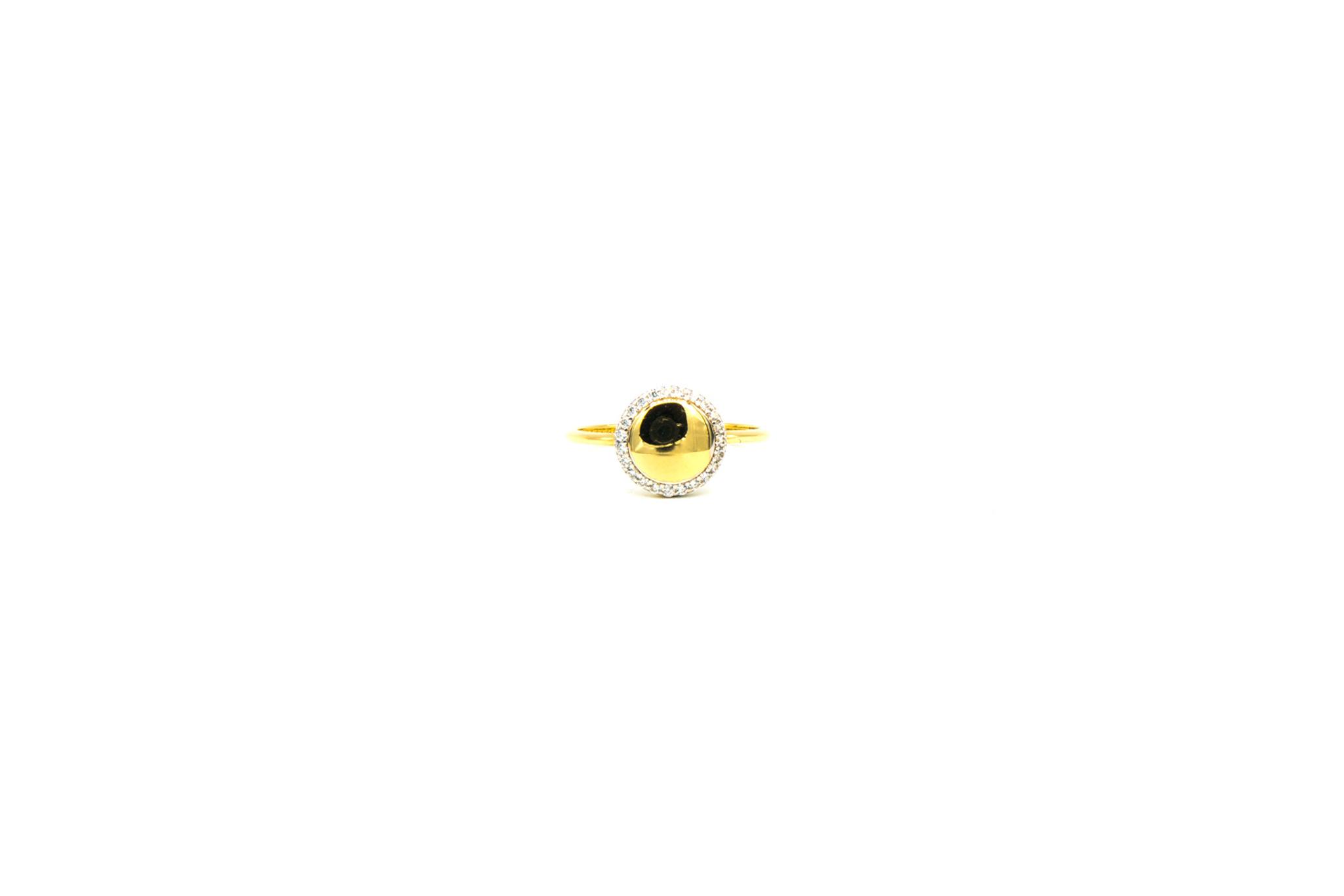 Ring rond bezet met zirkonia's-2