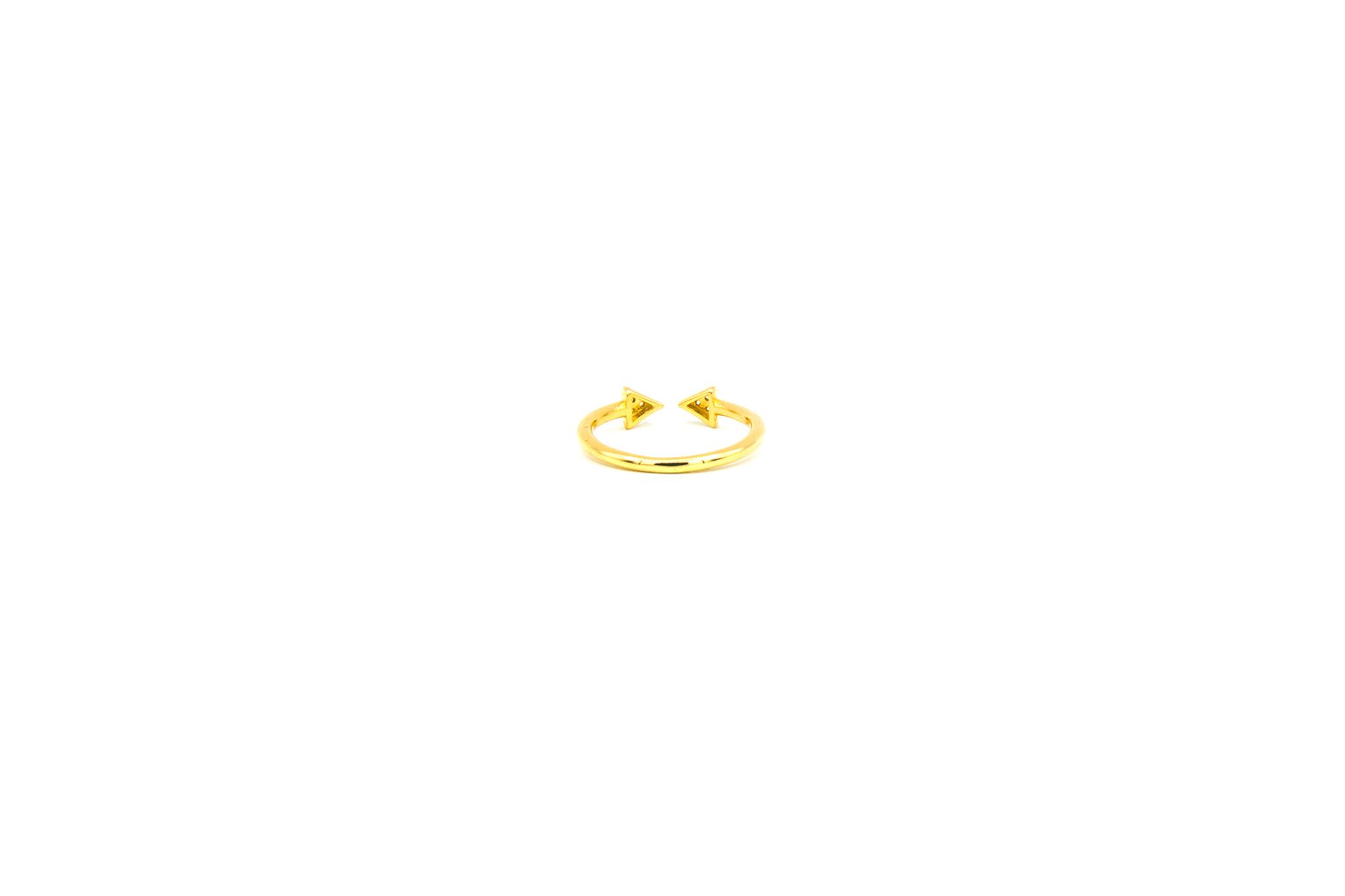 Ring arrow bezet met zirkonia's-4