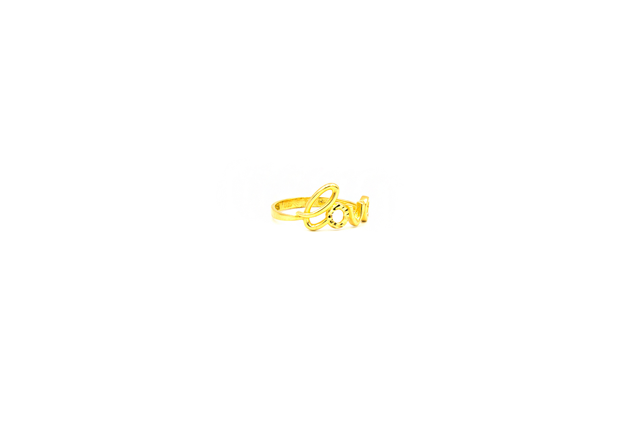 Ring LOVE letters-2
