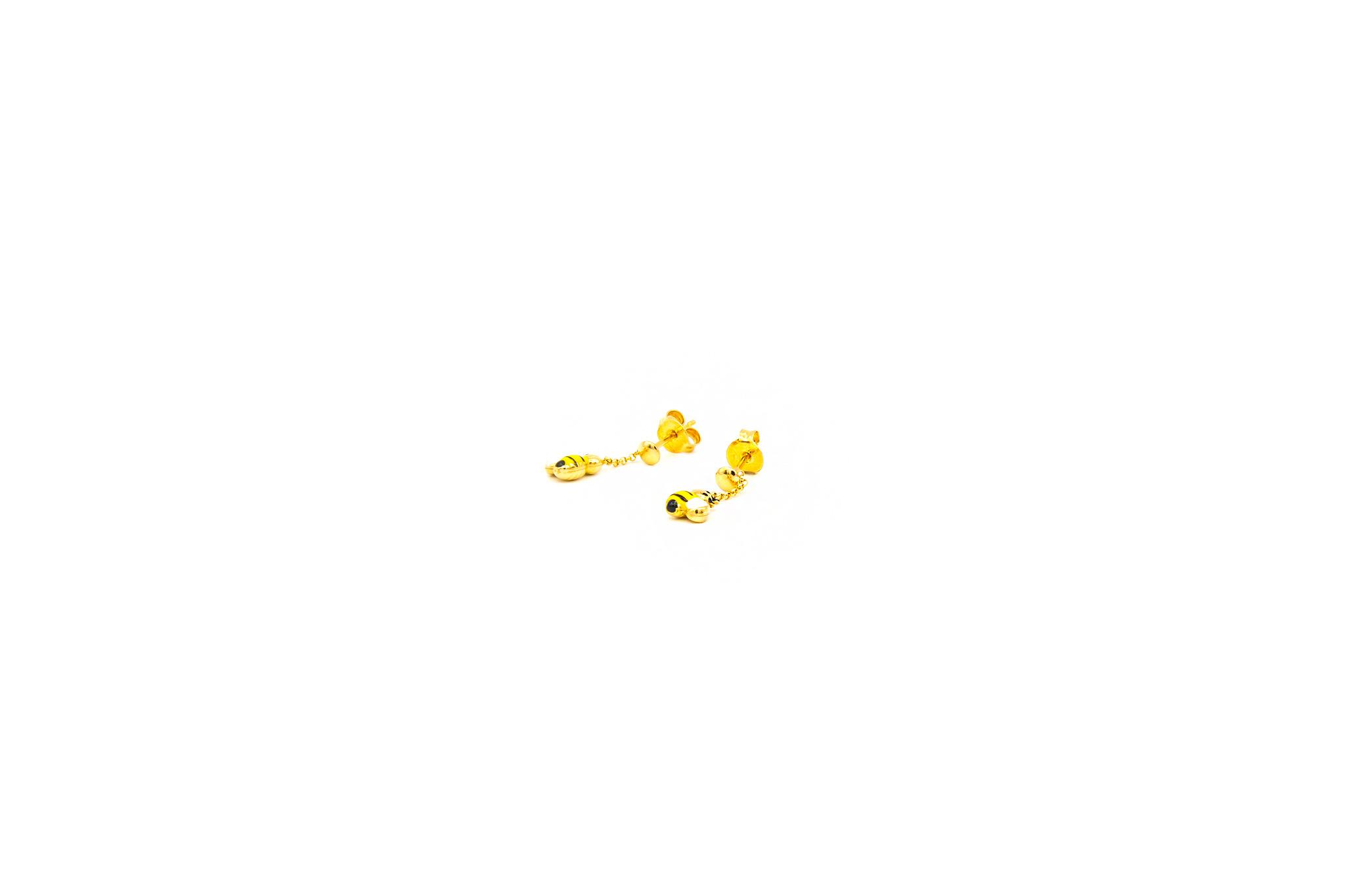 Oorbellen met bijtjes-1