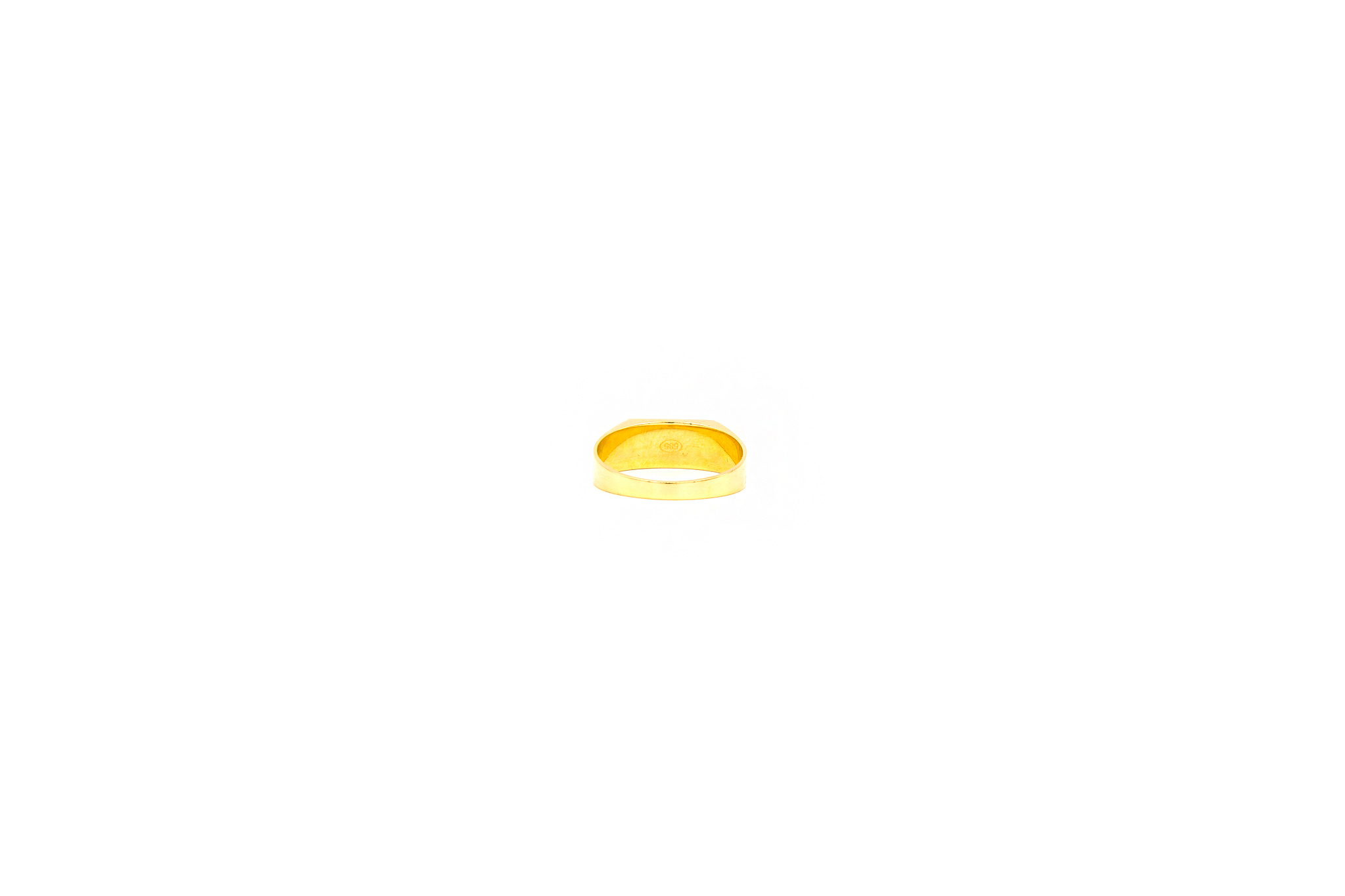 Ring zegel bicolor met mat effect-4