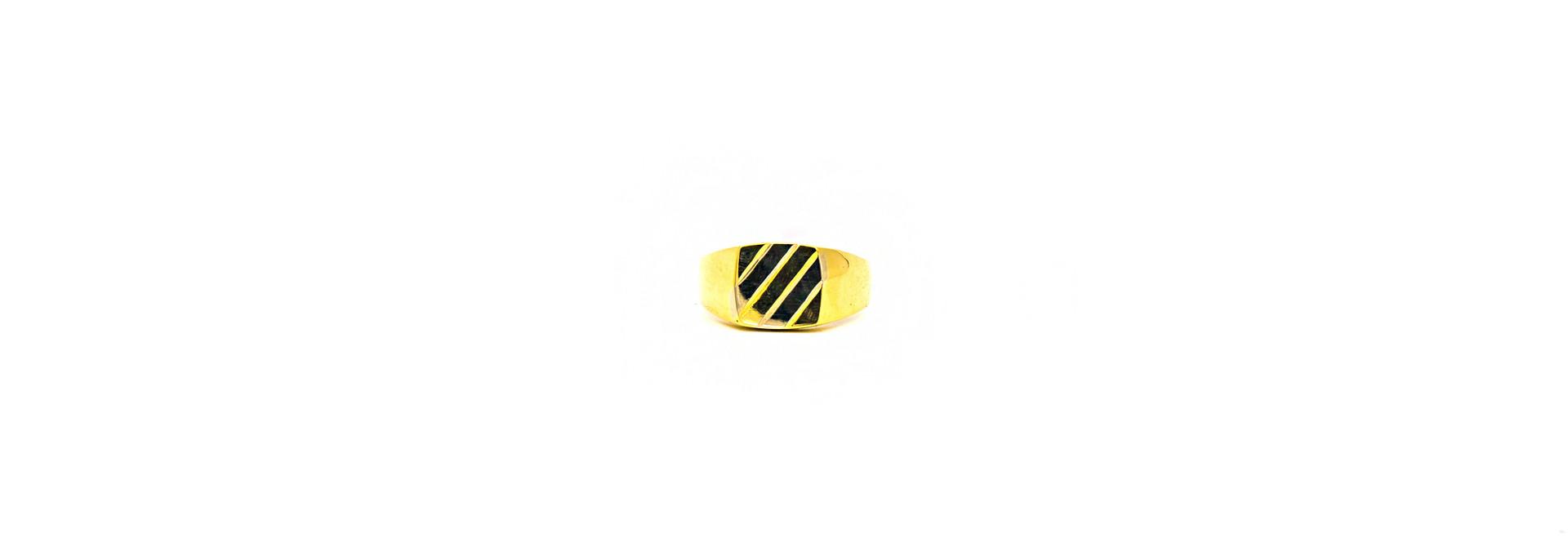 Ring zegel bicolor