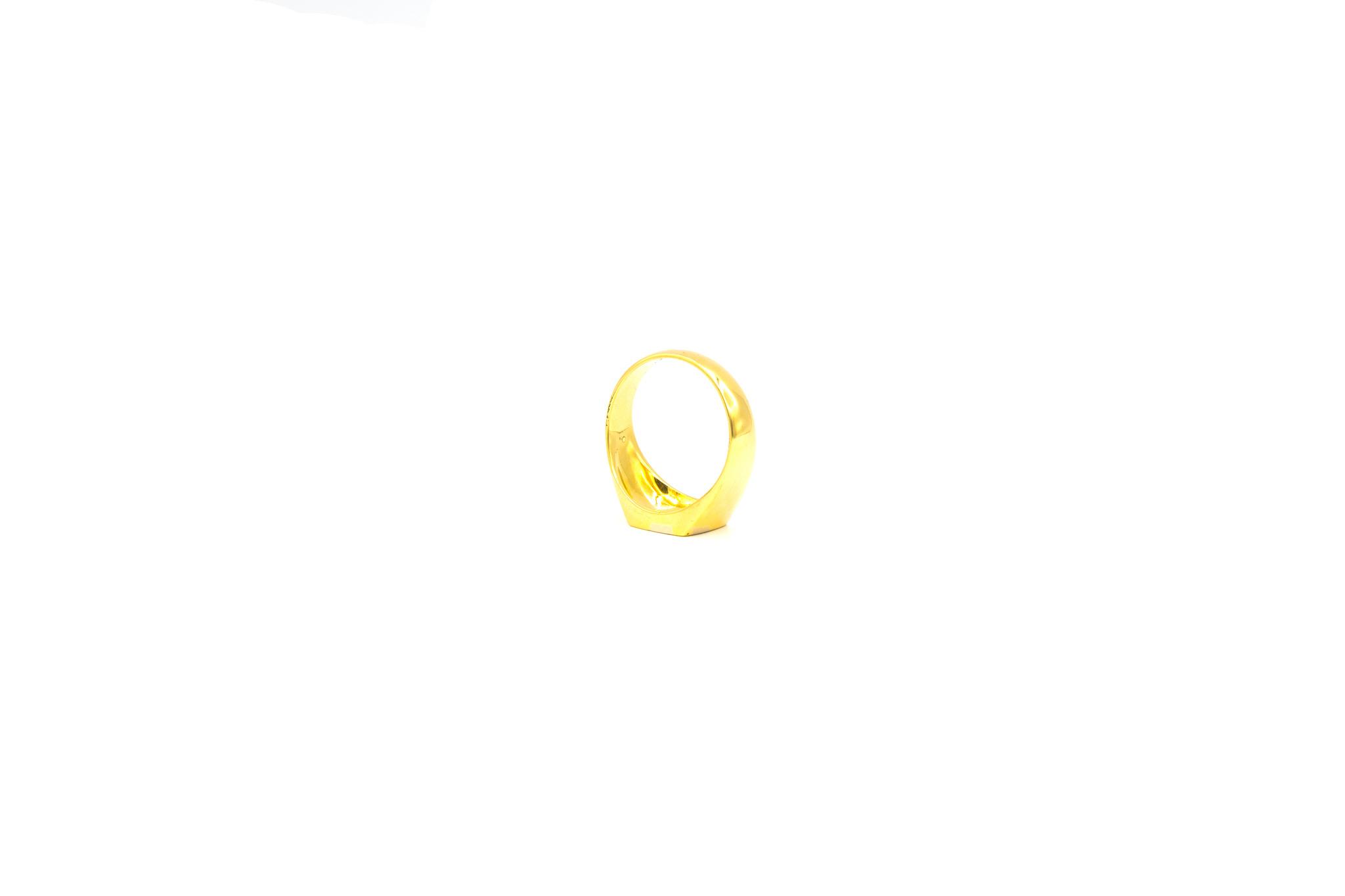 Ring zegel bicolor-5