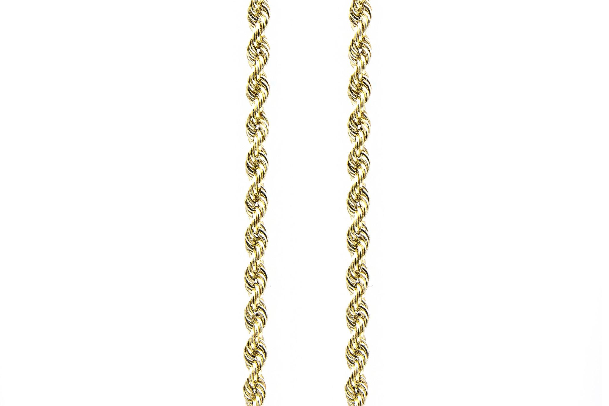 Rope chain Nederlands goud 14kt 9 mm-5