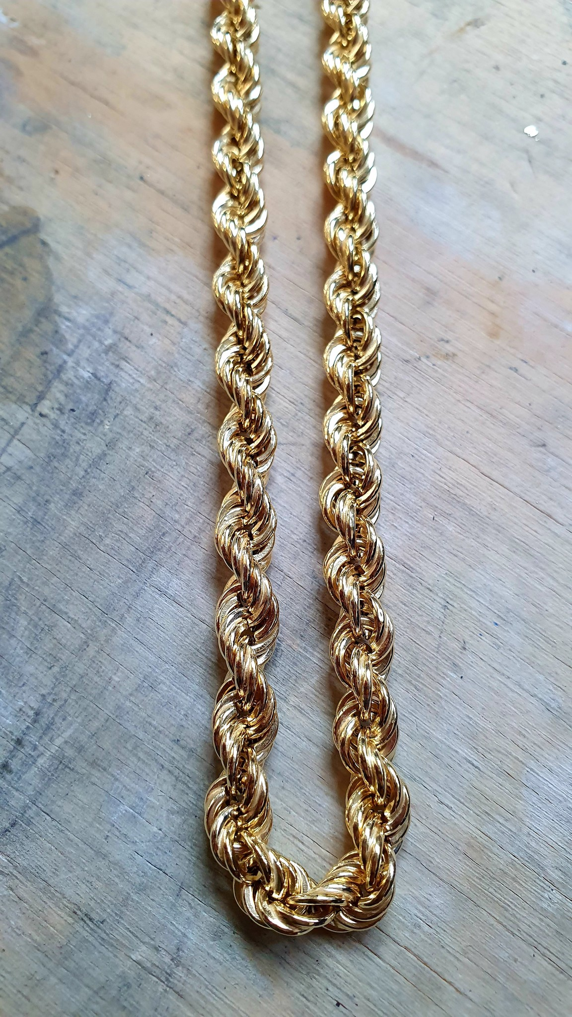 Rope Chain 14k-6 mm-1